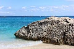 Vista del mar Mediterraneo Fotografia Stock