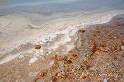Vista del mar Morto Immagini Stock Libere da Diritti