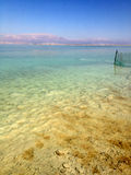 Vista del mar Morto Fotografie Stock