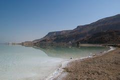 Vista del mar muerto Foto de archivo libre de regalías