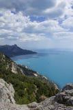 Vista del Mar Negro Fotos de archivo