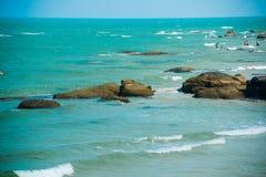 Vista del mar tailandia Foto de archivo