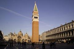 Vista del marco di San della piazza Fotografie Stock