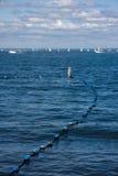 Vista del mare Immagini Stock Libere da Diritti
