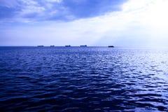Vista del mare Immagine Stock