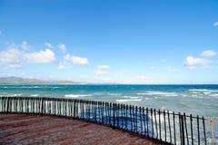 Vista del mare. Immagini Stock