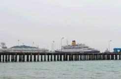 Vista del mare Immagini Stock