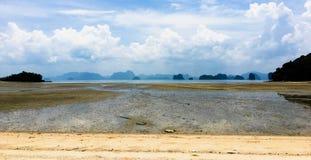 Vista del mare all'isola Fotografia Stock