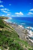Vista del mare in Austrailia fotografia stock