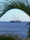 Vista del mare in Barbados Immagine Stock Libera da Diritti