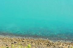 Vista del mare dall'allerta della tartaruga nel parco nazionale di Hillsborough del capo Fotografia Stock