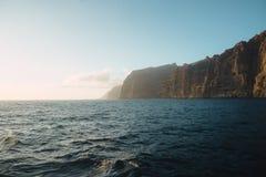 Vista del mare dei gigantes di Los Fotografia Stock Libera da Diritti