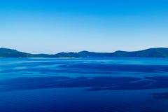 Vista del mare della Croazia Immagine Stock