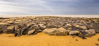 Vista del mare in Den Helder (Olanda) Fotografia Stock