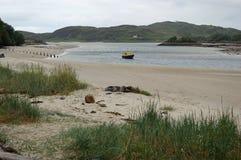 Vista del mare di West Highland immagine stock libera da diritti