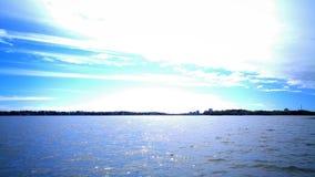 Vista del mare in Finlandia meridionale Fotografia Stock