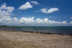 Vista del mare in Grecia; Katokolon Fotografie Stock Libere da Diritti
