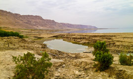 Vista del mare guasto Fotografie Stock