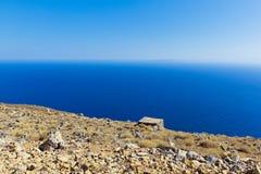 Vista del mare Lybian Fotografia Stock