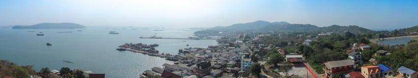 Vista del mare samed Fotografia Stock