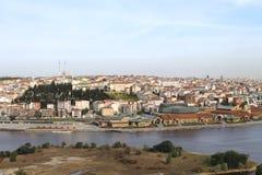 Vista del mare sul Bosforo, Turchia Fotografie Stock