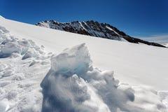 Vista del massiccio di Eiger, di Monch e di Jungfrau, alpi svizzere, Svizzera, Europa Immagine Stock