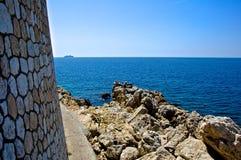 Vista del mediterráneo Imagen de archivo libre de regalías
