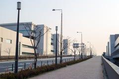 Vista del mercato ittico all'ingrosso di Toyosu immagini stock
