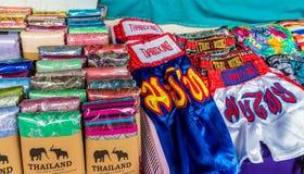 Vista del mercato a Phuket Città Vecchia fotografia stock libera da diritti