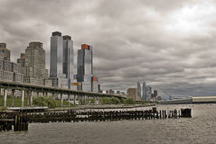Vista del Midtown Manhattan Fotos de archivo