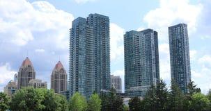 Vista del Mississauga, Ontario 4K céntrico metrajes