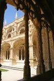 Vista del monasterio de Jeronimos Foto de archivo libre de regalías