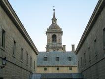 Vista del monasterio del EL Escorial Imagen de archivo libre de regalías