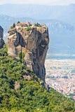 Vista del monastero Agia Triada della trinità santa Immagini Stock