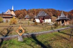 Vista del monastero di Barsana Fotografie Stock Libere da Diritti