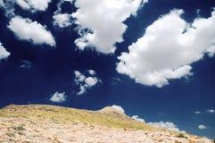 Vista del montaje Nemrut, Turquía del este Fotografía de archivo
