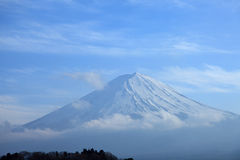 Vista del monte Fuji Fotografie Stock