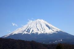 Vista del monte Fuji Immagini Stock Libere da Diritti