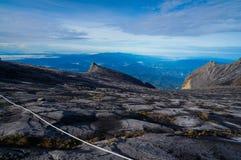 Vista del Monte Kinabalu Fotografia Stock