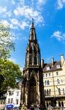 Vista del monumento del ` de los mártires, Oxford imagen de archivo