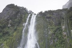 """Vista del mountain× asombroso """"de Nueva Zelanda fotos de archivo"""