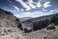 """Vista del mountain× asombroso """"de Nueva Zelanda imagen de archivo"""