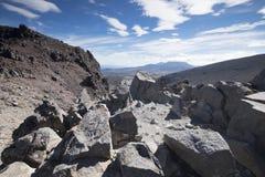 """Vista del mountain× asombroso """"de Nueva Zelanda imagen de archivo libre de regalías"""