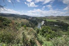 """Vista del mountain× asombroso """"de Nueva Zelanda fotografía de archivo libre de regalías"""
