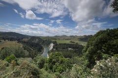 """Vista del mountain× asombroso """"de Nueva Zelanda imágenes de archivo libres de regalías"""