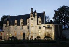 Vista del museo di Beauvais fotografia stock