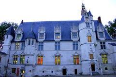 Vista del museo di Beauvais immagine stock libera da diritti
