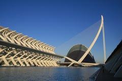 Vista del museo tecnico nella città delle arti e della S Immagini Stock
