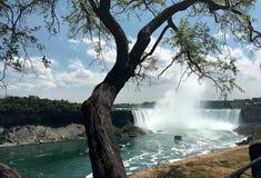 Vista del Niagara Falls, Ontario, Canadá Imágenes de archivo libres de regalías