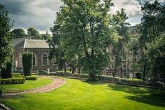 Vista del nuevo sitio de la herencia de Lanark, Lanarkshire en Escocia, Reino Unido Fotos de archivo